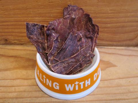 POCHETINOポケティーノ猪肉ジャーキー国産犬用おやつ無添加販売店東京フントヒュッテ文京区ジビエ猪肉には良質なタンパク質とビタミンB群が豊富に含まれています_2.jpg
