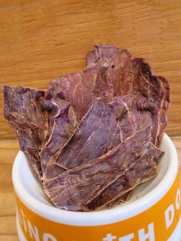 POCHETINOポケティーノ猪肉ジャーキー国産犬用おやつ無添加販売店東京フントヒュッテ文京区ジビエ猪肉には良質なタンパク質とビタミンB群が豊富に含まれています_3.jpg
