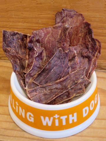 POCHETINOポケティーノ猪肉ジャーキー国産犬用おやつ無添加販売店東京フントヒュッテ文京区ジビエ猪肉には良質なタンパク質とビタミンB群が豊富に含まれています_5.jpg