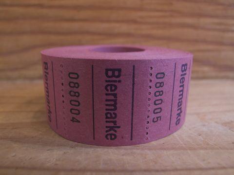 ドイツ チケット Biermarke ビールチケット 画像 海外 紙もの 紙物 ドイツ 雑貨 外国 チケット コラージュ デコレート ラッピングの飾り 1.jpg