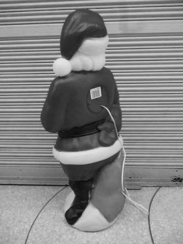 EMPIRE PLASTIC Made in USA エンパイアプラスチックUSA製アメリカ製ビンテージ60s70sクリスマスイルミネーションモチーフライトサンタクロースライト画像フントヒュッテ東京インテリア雑貨シーズン季節年中行事_5.jpg