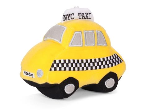 Fab Dog ファブドッグ I love NY Taxi Toy 画像 犬のおもちゃ 海外 セレクトショップ レア 犬用Toy フントヒュッテ 4.jpg