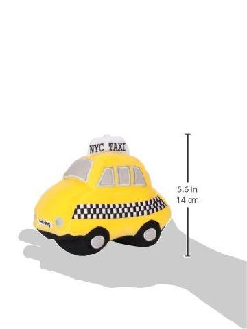 Fab Dog ファブドッグ I love NY Taxi Toy 画像 犬のおもちゃ 海外 セレクトショップ レア 犬用Toy フントヒュッテ 5.jpg