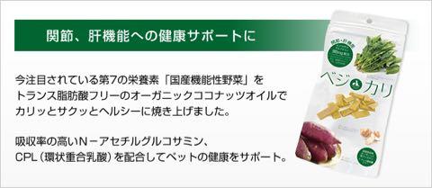 ベジカリ犬のおやつ国産サプリメントヘルスケア機能性野菜ビーツ関節・肝機能への健康サポート菊芋サツマイモ瞳の健康サポート黒人参BellwoodsペットクールPet-Cool_6.jpg