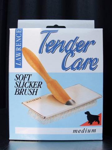 ローレンス スリッカーブラシ 画像 LAWRENCE SOFT SLICKER BRUSH ソフトスリッカーブラシ サイズ 価格 犬用ケア用品 8.jpg