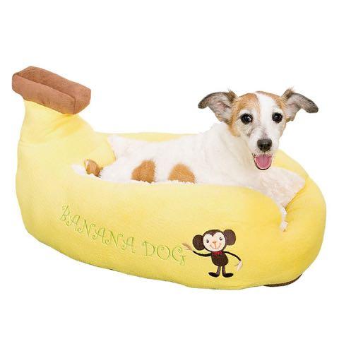 ポンポリース犬用ベッド犬用カドラーキャラクターカドラーバナナドッグ画像PomPreeceバナナボートペット用ベッドかわいい東京フントヒュッテ文京区_4