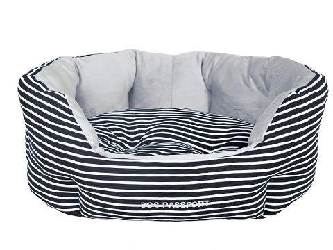 ポンポリース犬用ベッド犬用カドラークッションエッグカドラーモノトーンボーダー画像PomPreeceペット用ベッドかわいい東京フントヒュッテ文京区_3
