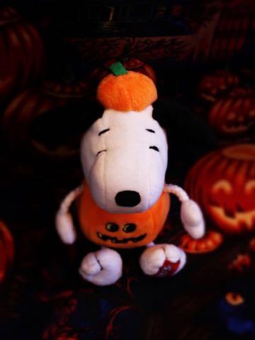 ハロウィン スヌーピー ドッグトイ 画像 犬用おもちゃ Snoopy かぼちゃ コスプレ DOG TOY チャールズ・M・シュルツ 2.jpg