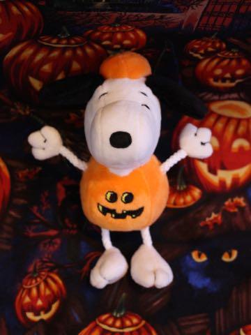 ハロウィン スヌーピー ドッグトイ 画像 犬用おもちゃ Snoopy かぼちゃ コスプレ DOG TOY チャールズ・M・シュルツ 6.jpg