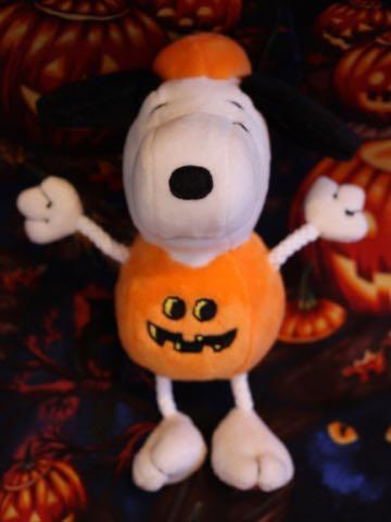 ハロウィン スヌーピー ドッグトイ 画像 犬用おもちゃ Snoopy かぼちゃ コスプレ DOG TOY チャールズ・M・シュルツ 9.jpg