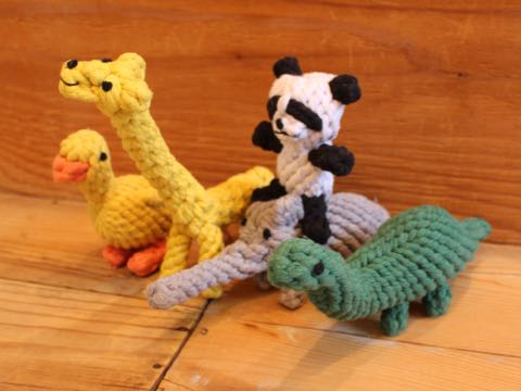 Focuspet犬のおもちゃドッグトイ画像ペットトイロープのおもちゃ丈夫犬噛むぬいぐるみキリンパンダダックあひるぞう象恐竜犬運動不足ストレス解消_9.jpg
