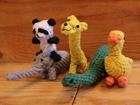 Focuspet犬のおもちゃドッグトイ画像ペットトイロープのおもちゃ丈夫犬噛むぬいぐるみキリンパンダダックあひるぞう象恐竜犬運動不足ストレス解消_10.jpg
