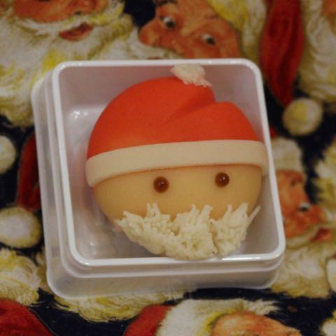 サンタクロース 和菓子 クリスマス 画像 1