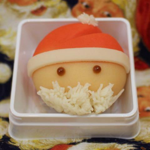 サンタクロース 和菓子 クリスマス 画像 3
