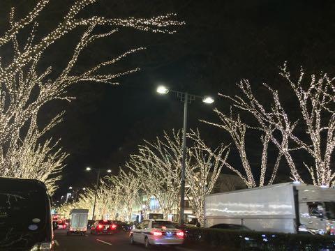 クリスマスイルミネーション2017 表参道 20171225 1
