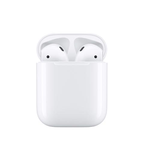 AirPods ワイヤレス ヘッドフォン 画像 アップルストア銀座 リンゴマークが赤に Apple Store RED 12月1日 世界エイズデー 3