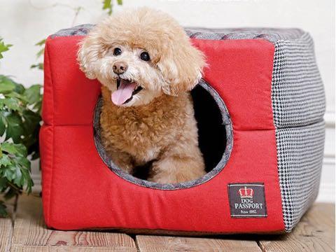 ポンポリース 犬用ベッド 犬用カドラー 2WAYカドラー ミックスチェック S 画像 PomPreece ペット用ベッド 東京 フントヒュッテ 文京区_2
