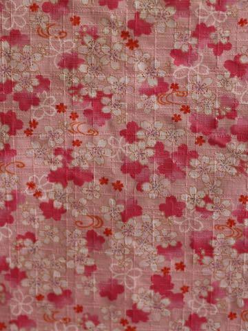 桜2018和柄コットン生地桜柄生地春ピンクファブリックかわいいプリント生地画像種類 Cherry-blossoms チェリーブロッサム a cherry tree 桜の木_3b