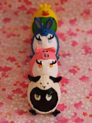 イースタータマゴ ランコ 限定 ヒツジ ブタ ウサギ ヒヨコ 犬グッズ フントヒュッテ 犬用おもちゃ レア たまごちゃん LANCO 7