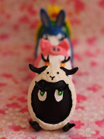 イースタータマゴ ランコ 限定 ヒツジ ブタ ウサギ ヒヨコ 犬グッズ フントヒュッテ 犬用おもちゃ レア たまごちゃん LANCO 8