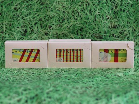 ポイントカード フントヒュッテ トリミングサロン デザイン データ作成 エコ名刺専門 名刺のアルファス エコ名刺 エコショップカード 1