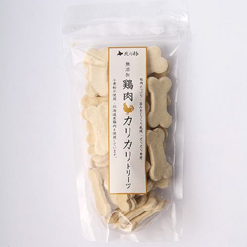 北の極み 無添加 ホワイトソルガム使用 小麦アレルギー対応 犬のおやつ 画像 オススメ 東京 フントヒュッテ さつま芋カリカリトリーツ 5.jpg