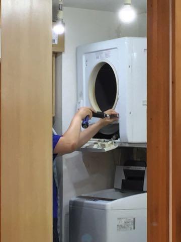 衣類乾燥機 故障 修理 保証 期間 修理代金 金額 日立 HITACHI 1.jpg