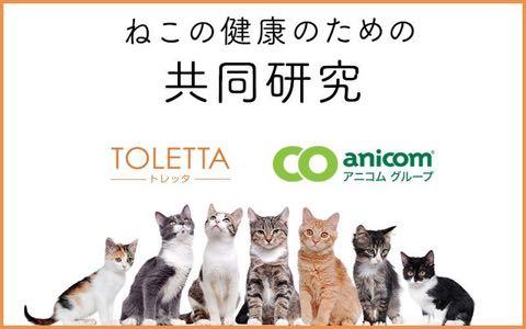 猫のIoTトイレ「TOLETTA」、ペット保険会社と猫の健康に関する共同研究開始.jpg