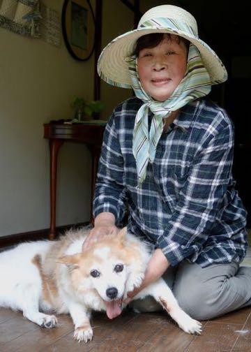 西日本豪雨 泣きながら自宅に残してきた老犬、無事だった_3.jpg