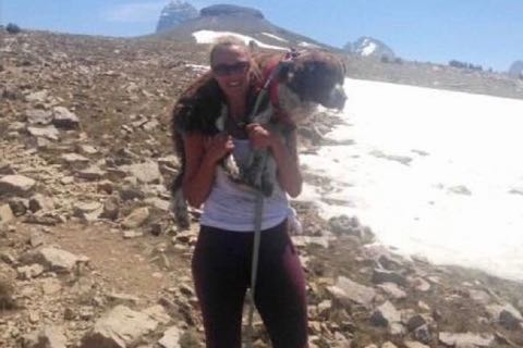 負傷犬を担ぎ決死の下山 救助女性を待っていた意外な結末.jpg