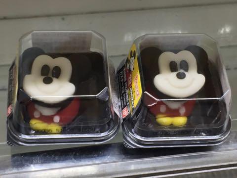 食べマス Disney VINTAGE ver ミッキーマウス(カスタード味) ミニーマウス(いちご味) スクリーンデビュー90周年限定ラベル 和菓子 1.jpg