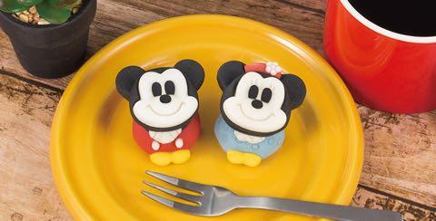 食べマス Disney VINTAGE ver ミッキーマウス(カスタード味) ミニーマウス(いちご味) スクリーンデビュー90周年限定ラベル 和菓子 4.jpg