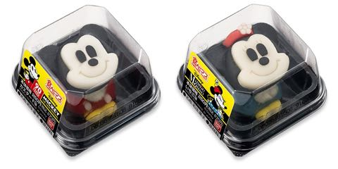食べマス Disney VINTAGE ver ミッキーマウス(カスタード味) ミニーマウス(いちご味) スクリーンデビュー90周年限定ラベル 和菓子 5.jpg