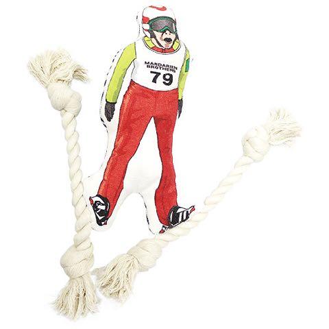 クレイジーロープトイ 犬用おもちゃ 犬用トイ 画像 お洒落でカッコイイペットグッズ マンダリンブラザーズ Mandarine Brothers スキージャンプ 1.jpg