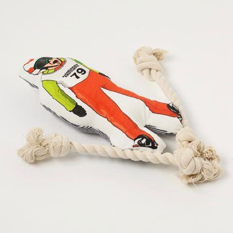 クレイジーロープトイ 犬用おもちゃ 犬用トイ 画像 お洒落でカッコイイペットグッズ マンダリンブラザーズ Mandarine Brothers スキージャンプ 2.jpg