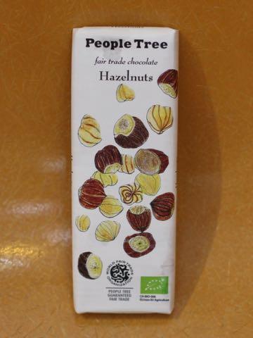 People Tree フェアトレードチョコレートピープルツリーオーガニックチョコレート画像ヘーゼルナッツチョコレート冬季限定有機栽培自然食マクロビオティック2018年秋冬_1.jpg