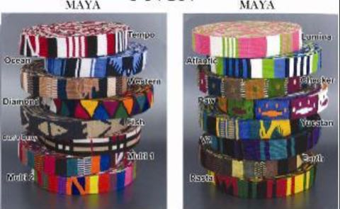 Color Pet Products MAYA Rasta カラーペットプロダクツ マヤ 首輪&リードセット ラスタカラー ジャマイカ レゲエ 民族 かわいい 犬グッズ 犬用品 販売 東京 フントヒュッテ 4.jpg