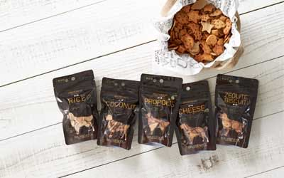 わんのはな 無添加 オーガニック 食品 ケア用品 企画販売 愛犬 エコロジカルドッグライフ 化学合成添加物を可能な限り使用しない商品 ヒューマンレベル原料 フントヒュッテ わんのはな ゼオライトココナッツビスケット 4.jpg