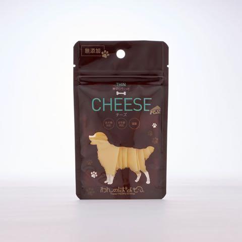 わんのはな 無添加 オーガニック 食品 ケア用品 企画販売 愛犬 エコロジカルドッグライフ 化学合成添加物を可能な限り使用しない商品 ヒューマンレベル原料 フントヒュッテ わんのはな 薄切りパリッとチーズ 1.jpg