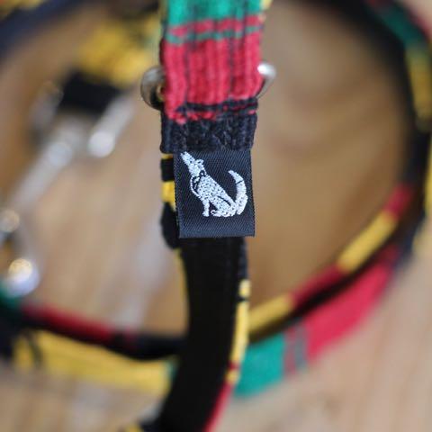 Color Pet Products MAYA Rasta カラーペットプロダクツ マヤ 首輪&リードセット ラスタカラー ジャマイカ レゲエ 民族 かわいい 犬グッズ 犬用品 販売 東京 フントヒュッテ 9.jpg