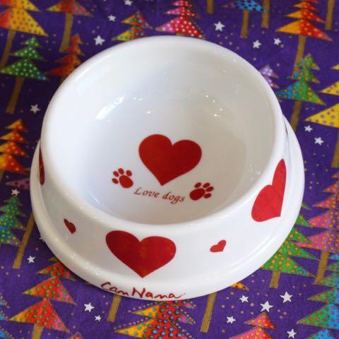 きゃんナナ CanNana 犬用食器 ペット用品 販売 東京 フントヒュッテ 犬 ごはん皿 ドッグ フードボウル 画像 _ 2.jpg