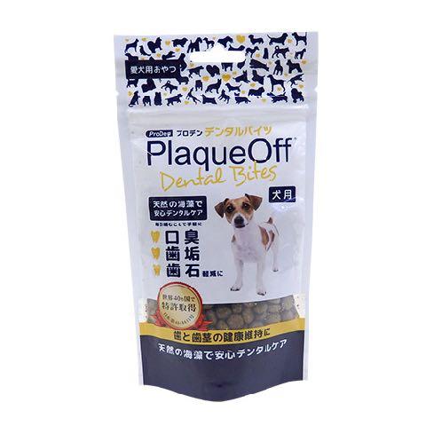 プロデン デンタルバイツ 犬 歯垢・歯石を抑え、口臭を軽減 天然海藻(アスコフィラムノドサム)を主原料とする安全な犬猫用のデンタルおやつ 人工保存料・添加物・着色料は一切使用していない 画像 評判 効果_通販4.jpg