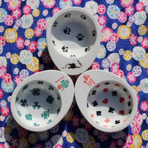 FARZEN ファーゼン フードボウル ドゥーエッグフードボウル 画像 犬用食器 日本製 MADE IN JAPAN 東京 フントヒュッテ 肉球 クローバー トランプ _ 2.jpg