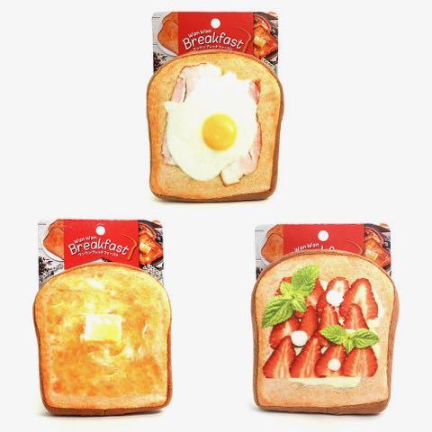 ワンワン ブレックファースト ベーカリー トースト パン 犬用おもちゃ スクィーカー フライングディスク ドッグトイ 画像 dogtoy _ 1.jpg
