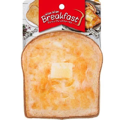 ワンワン ブレックファースト ベーカリー トースト パン 犬用おもちゃ スクィーカー フライングディスク ドッグトイ 画像 dogtoy バター 1.jpg