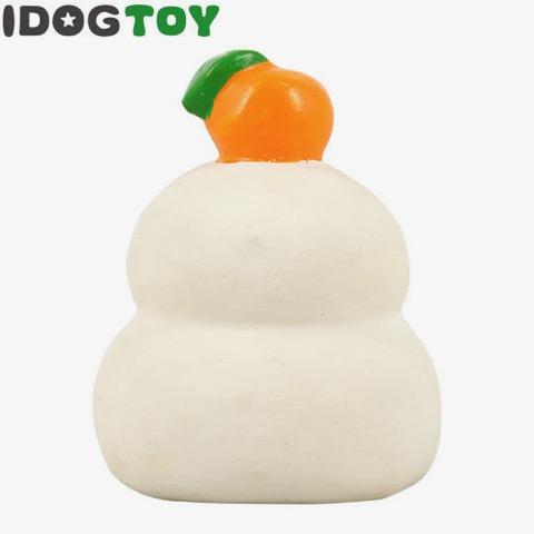 iDog&iCat アイドッグアイキャット ラテックスTOY 犬のおもちゃ 東京 フントヒュッテ 画像 かがみもち 鏡餅 ラテックスTOY _ 2.jpg
