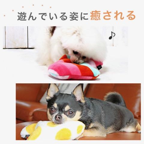 iDog&iCat アイドッグアイキャット iToy 国産ペット用おもちゃ POPな柄のキノコ型おもちゃ カシャカシャ入りでワンコも夢中に 東京 フントヒュッテ 画像 犬用おもちゃ _ 8.jpg
