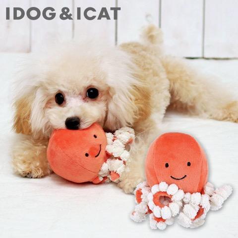 iDog&iCat アイドッグアイキャット iToy ペット用布製おもちゃ 画像 犬用おもちゃ にょろにょろタコさん _ 8.jpg