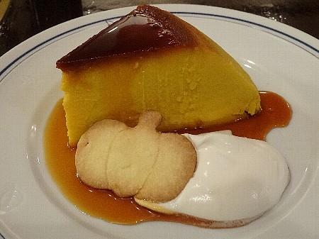 期間限定の『かぼちゃのプリン 期間限定でかぼちゃ型のクッキー付き
