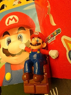 おもちゃ:手をふるマリオ